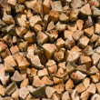 Pile of firewood — Stock Photo