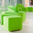 Green armchairs — Stock Photo #2884749