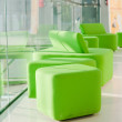 Green armchairs — Foto de stock #3306793