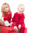 Christmas babies — Stock Photo #3694416