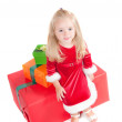 Christmas toddler — Stock Photo