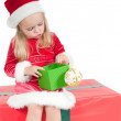 Christmas toddler — Stock Photo #3772350