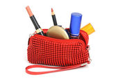 Cosmetics bag — Stock Photo