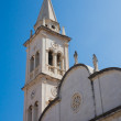 Church in Yelsa. Hvar Island, Croat - Stock Photo