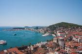 Split city view, Croatia — Stock Photo