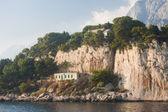 Stenig strand. Kroatien — Stockfoto