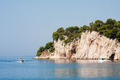 Rocky shore. Croatia — Stock Photo