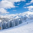 Ski resort Schladming . Austria — Stockfoto #3918179