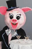 Игрушка свинья — Стоковое фото