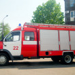 Russian firetruck - Stock Photo