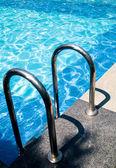 Swimming pool entrance — Stock Photo