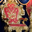 Royal throne - Foto Stock