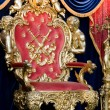 Royal throne - 图库照片