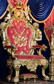 Royal throne — Stock Photo