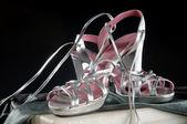 Stilvolle sandalen — Stockfoto