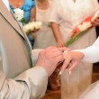 hands of the newlyweds — Stock Photo #3830587