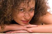 有吸引力的年轻女人肖像 — 图库照片