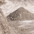 Industrial pile of gravel — Stock Photo #3918109