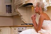 Legrační nevěsta — Stock fotografie
