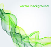 Green abstract background — Stock Vector