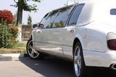 Wedding Limousine — Stock Photo