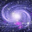 Stock Photo: Spiral galaxy