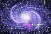 Spiral galaxy — Stock Photo