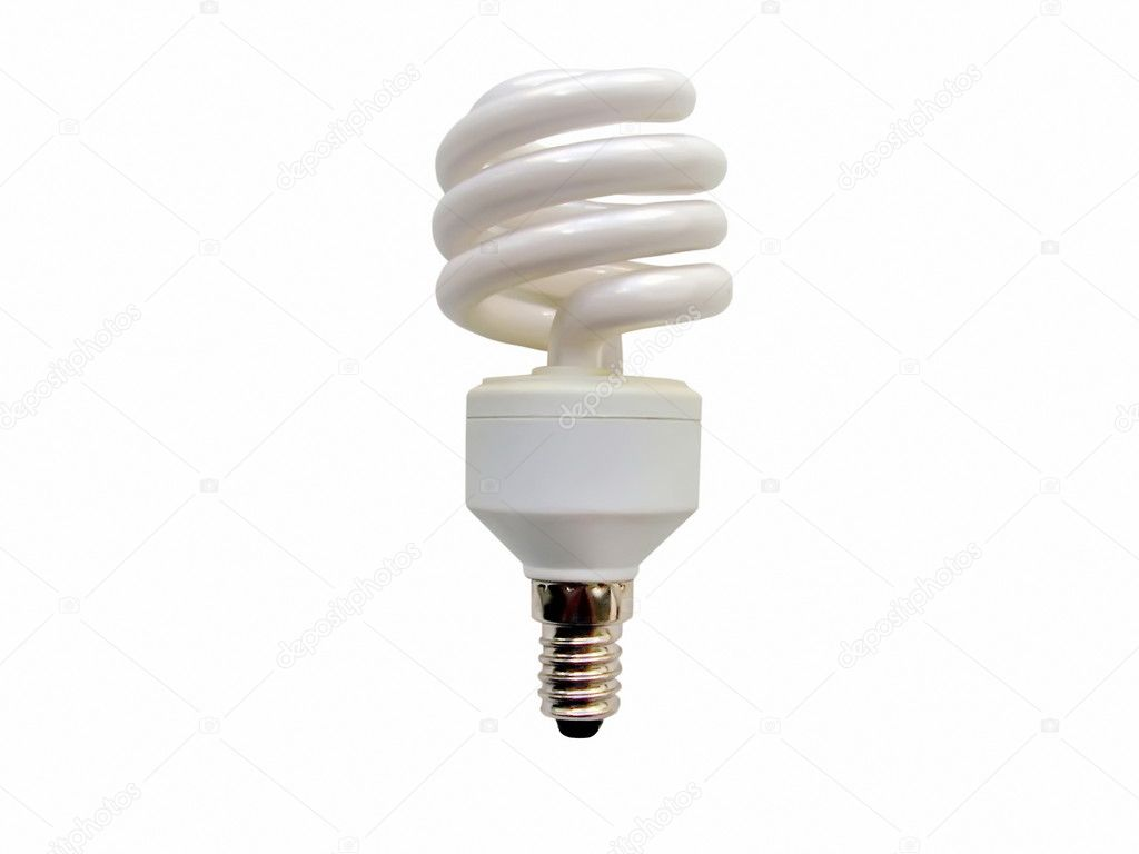 Energy Saving Light Bulb Stock Photo Brandonhot 3025608