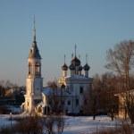 Chiesa ortodossa in inverno, russia — Foto Stock