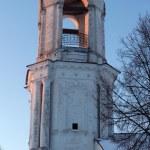 Vertical panorama of orthodox church — Stock Photo