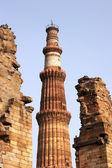 Qutb Minar complex, Delhi, India — Stock Photo