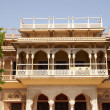 City palace entrance, Jaipur, India — Stock Photo