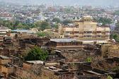 Jaipur city palace view, India — Stock Photo