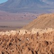 Volcano in Atacama Desert, Chile — Stock Photo