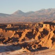 Stock Photo: AtacamDesert in evening, Chile