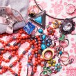 Luxury colorful accessories - Stock Photo