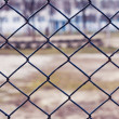 Stock Photo: Window screen with grill