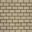 white painted blank brick wall backgroun — Stock Photo