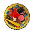Group of cosmetics - Stock Photo