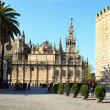 Stock Photo: Catedral & LGiralda, Sevilla
