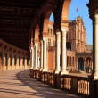 Palace arcade on the Spain`s Square - Stockfoto
