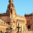 King`s Palace on Spain`s Square — Stock Photo