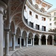 Sevilla`s courtyard - Stock Photo