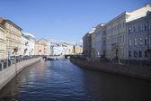 Sankt-petersburg, moyka floden. — Stockfoto