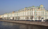 Winter Palace, in St Petersburg. — Stock Photo