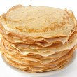 Russian traditional pancakes - Stock Photo