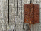 Rusty hinges — Stock Photo