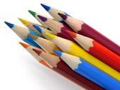 Color pencils — Stok fotoğraf