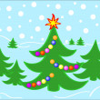 Royalty-Free Stock Vectorafbeeldingen: Christmas tree