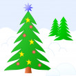 Royalty-Free Stock Vectorafbeeldingen: Christmas sketching